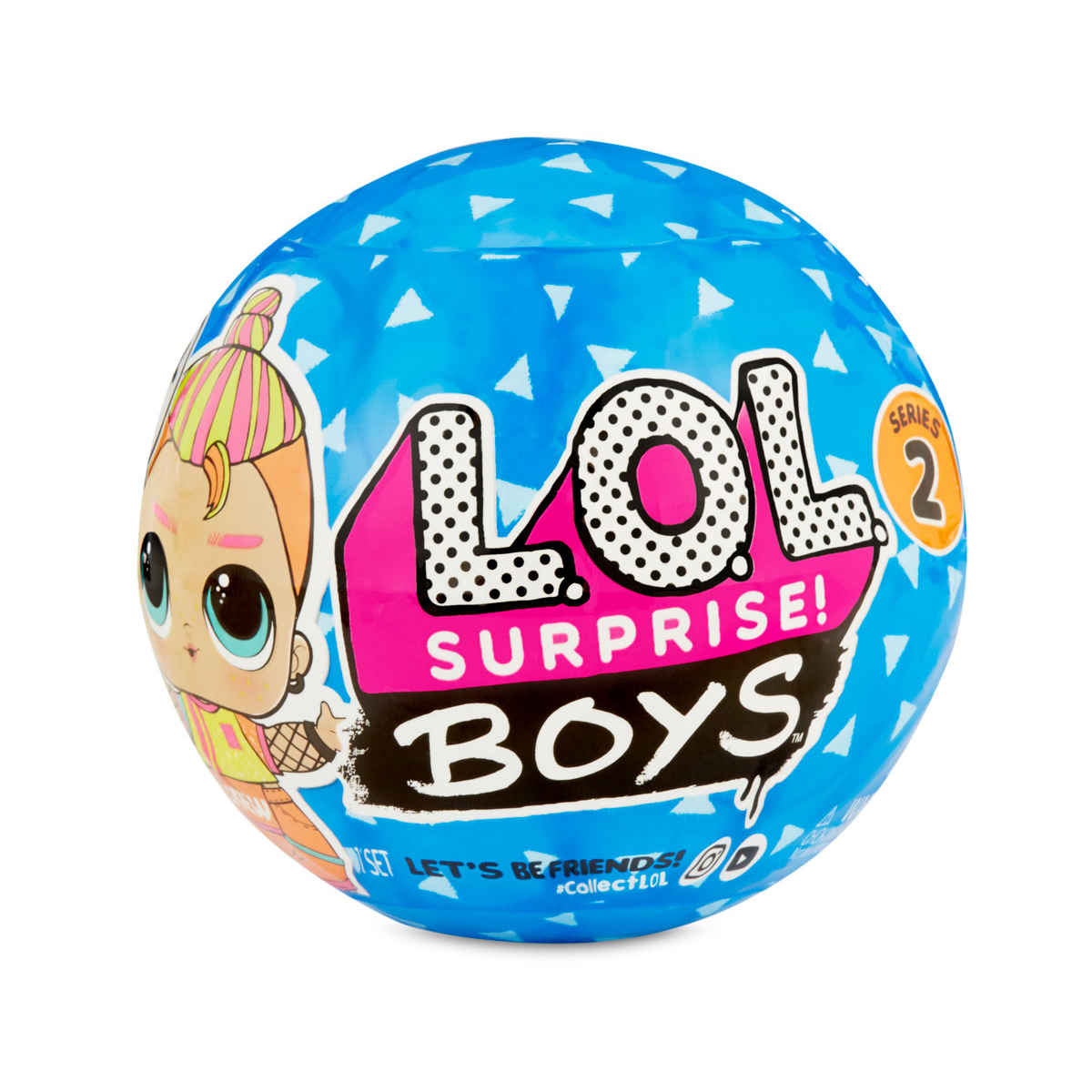 Boys Doll MGA LOL Series 1 Brother Mystery CHOP Surprise L.O.L