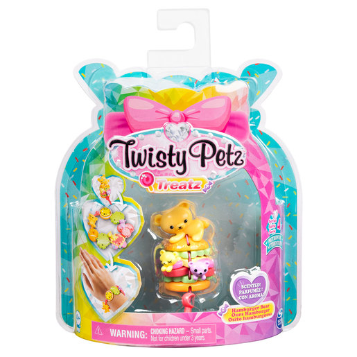 Twisty Petz Treatz Series 4 Bracelet - Hamburger Bear
