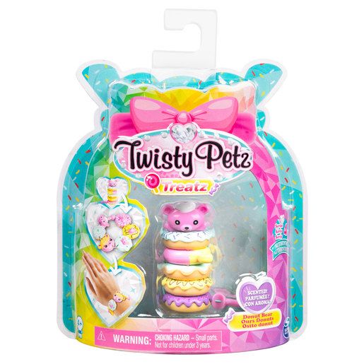 Twisty Petz Treatz Series 4 Bracelet - Donut Bear