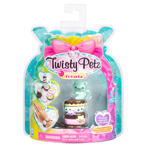 Twisty Petz Treatz Series 4 Bracelet - Ice Cream Sandwich Kittens
