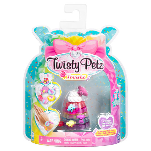 Twisty Petz Treatz Series 4 Bracelet - Rainbow Jelly Pups