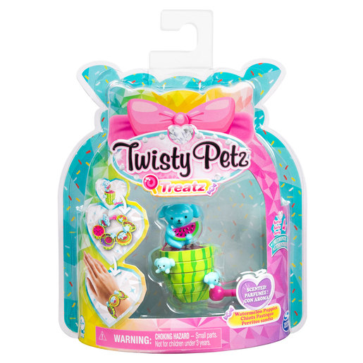 Twisty Petz Treatz Series 4 Bracelet - Watermelon Puppies