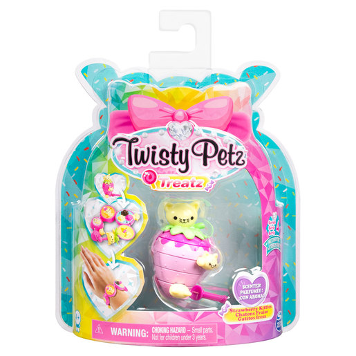 Twisty Petz Treatz Series 4 Bracelet - Strawberry Kittens