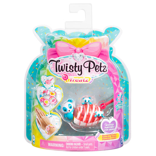 Twisty Petz Treatz Series 4 Bracelet - Sushi Pandas from TheToyShop