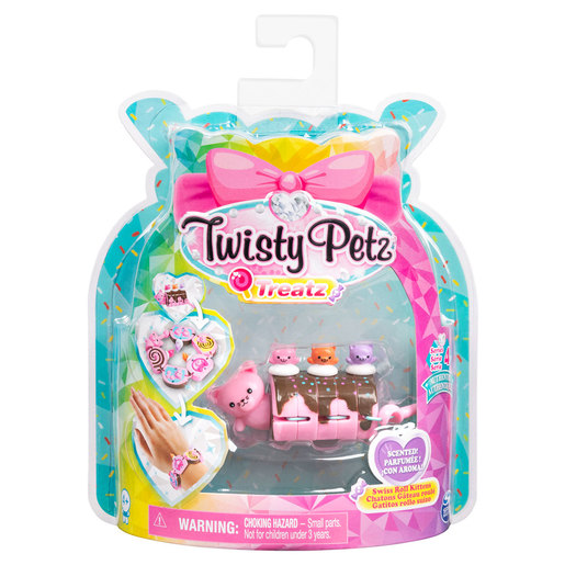 Twisty Petz Treatz Series 4 Bracelet - Swiss Roll Kittens