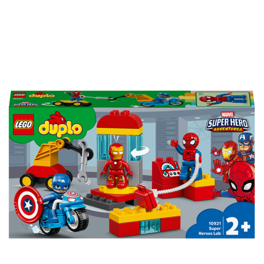 LEGO Duplo Marvel Super Hero Adventures Super Heroes Lab - 10921 from TheToyShop