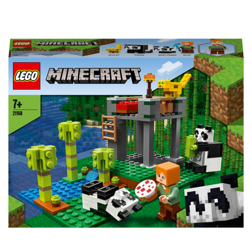LEGO Minecraft The Panda Nursery - 21158