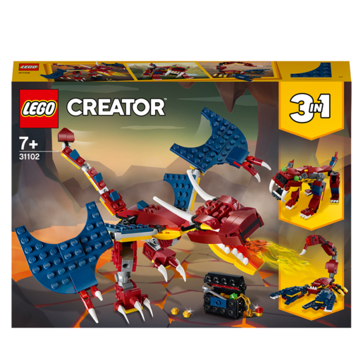 LEGO Creator Fire Dragon - 31102