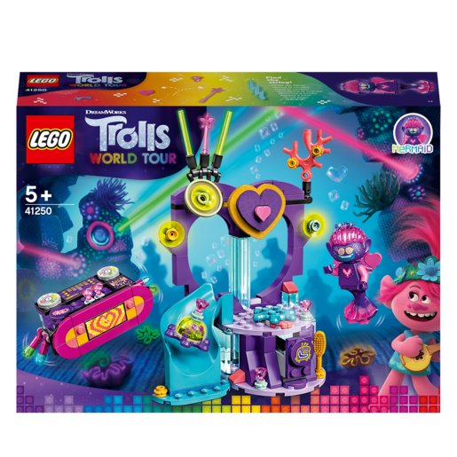 LEGO DreamWorks Trolls World Tour Techno Reef Dance Party - 41250