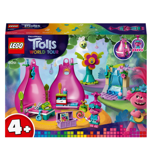LEGO DreamWorks Trolls World Tour Poppy's Pod - 41251