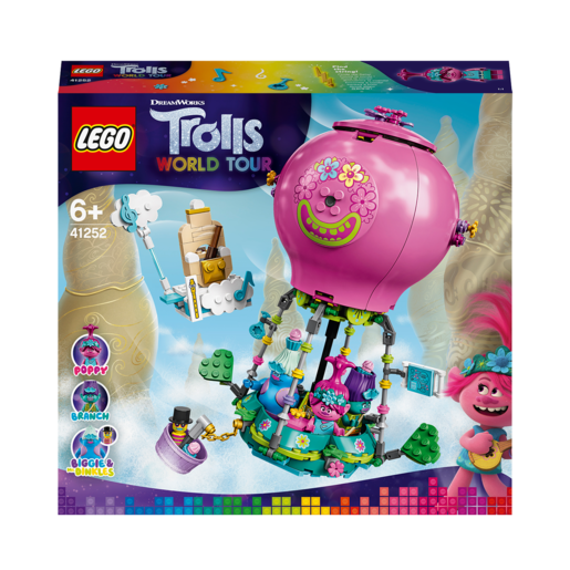 LEGO DreamWorks Trolls World Tour Poppy's Hot Air Balloon Adventure - 41252