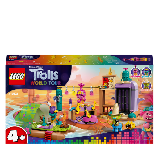 LEGO DreamWorks Trolls World Tour Lonesome Flats Raft Adventure - 41253