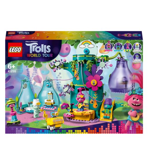 LEGO DreamWorks Trolls World Tour Pop Village Celebration - 41255