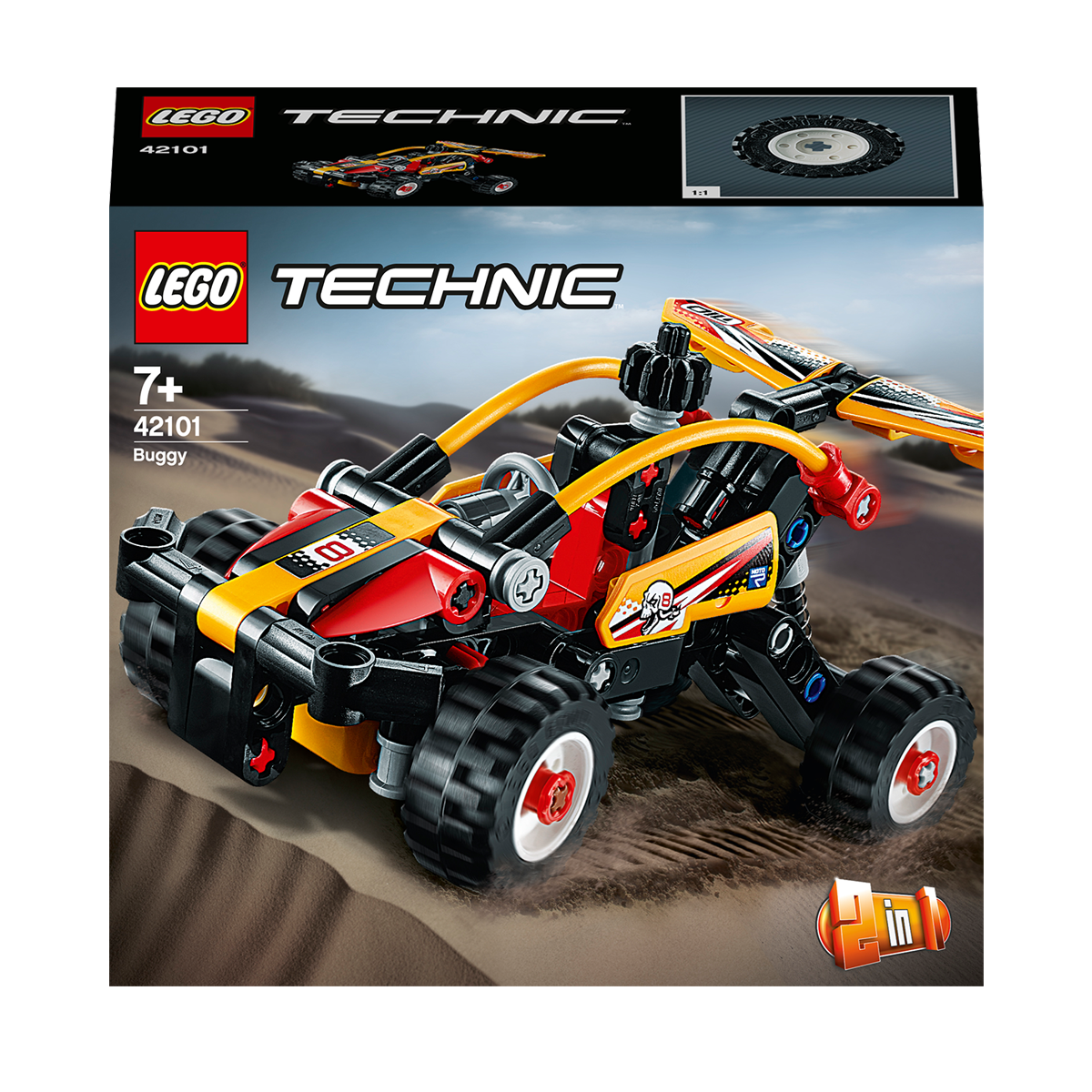 Lego Technic 2 In 1 Buggy 42101 The Entertainer