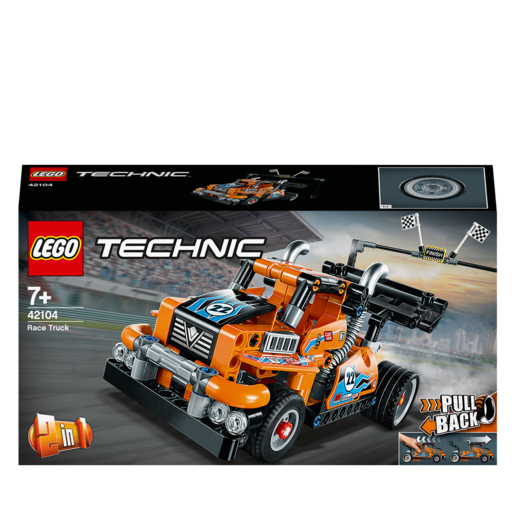 LEGO Technic 2-in-1 Race Truck - 42104