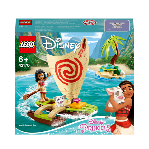 LEGO Disney Princess Moana's Ocean Adventure - 43170