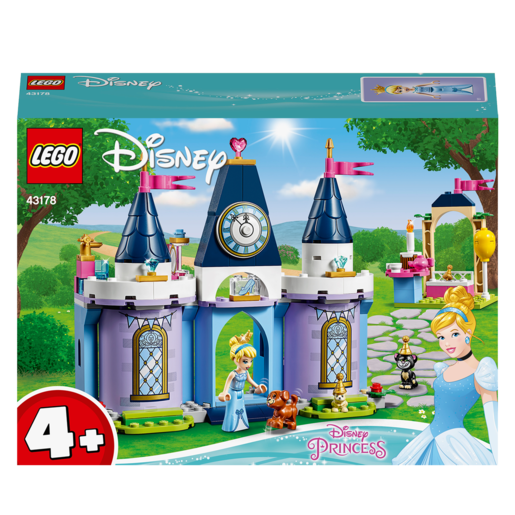 LEGO Disney Princess Cinderella's Castle Celebration - 43178