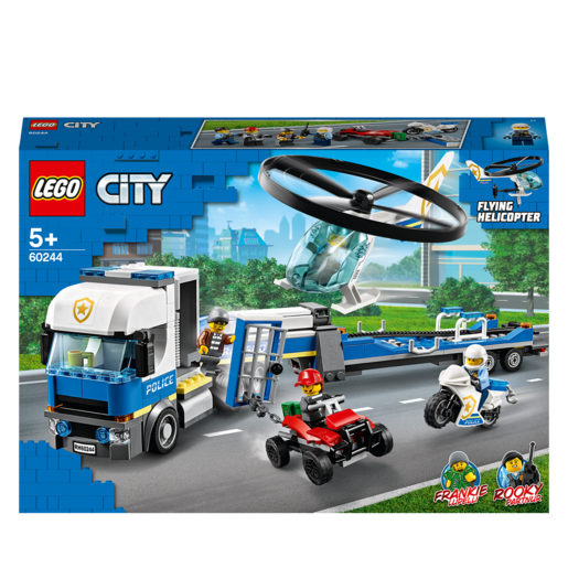 LEGO City Police Helicopter Transport - 60244