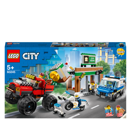 LEGO City Police Monster Truck Heist - 60245