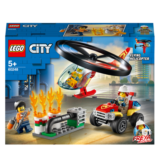 LEGO City Fire Helicopter Response - 60248
