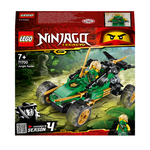 LEGO Ninjago Legacy Jungle Raider - 71700