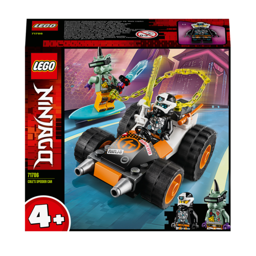 LEGO Ninjago Cole's Speeder Car - 71706