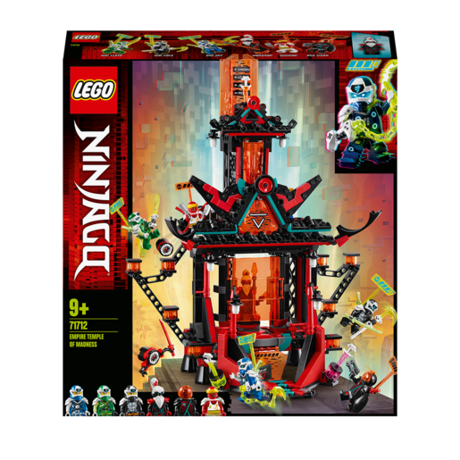 LEGO Ninjago Empire Temple of Madness - 71712