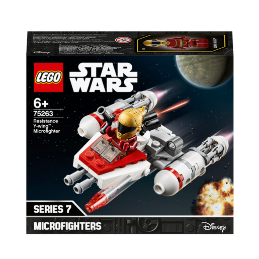 LEGO Star Wars Resistance Y-wing Microfighter - 75263