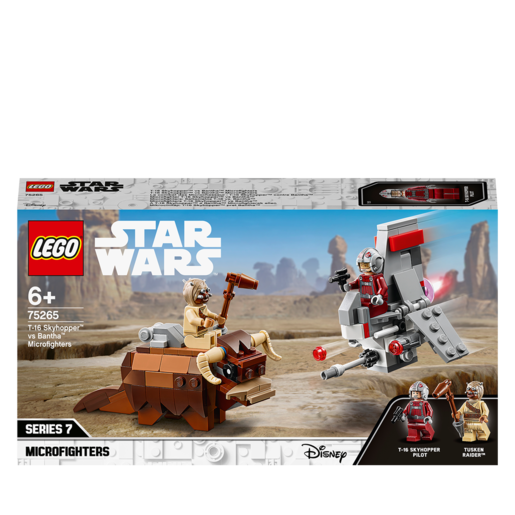 LEGO Star Wars T-16 Skyhopper vs Bantha Microfighters - 75265