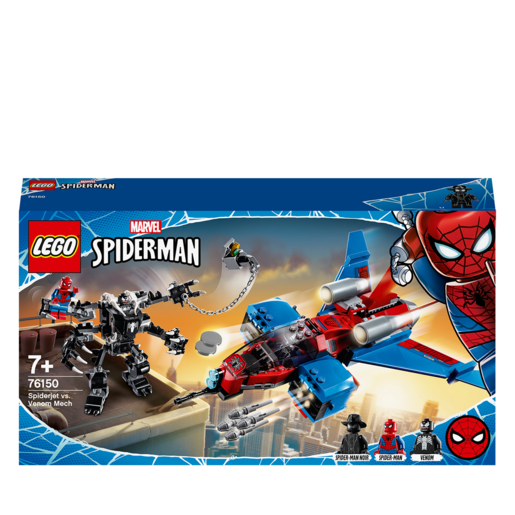 LEGO Marvel Spiderjet vs. Venom Mech - 76150