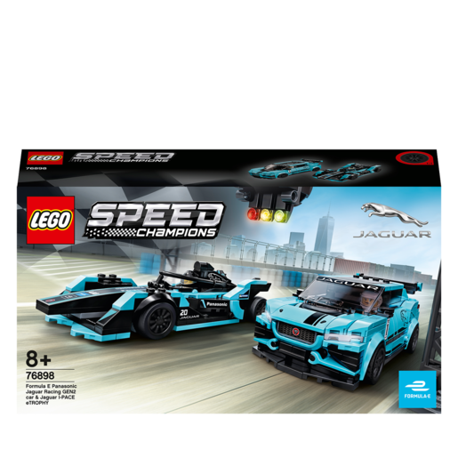 LEGO Speed Champions Formula E Panasonic Jaguar Racing GEN2 c - 76898