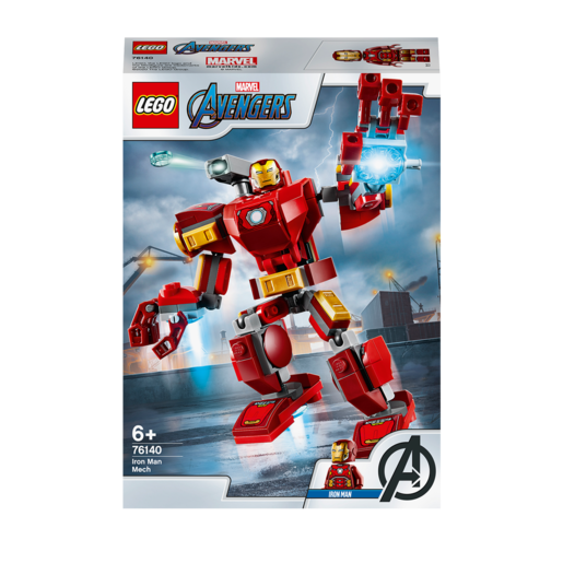LEGO Marvel Iron Man Mech - 76140