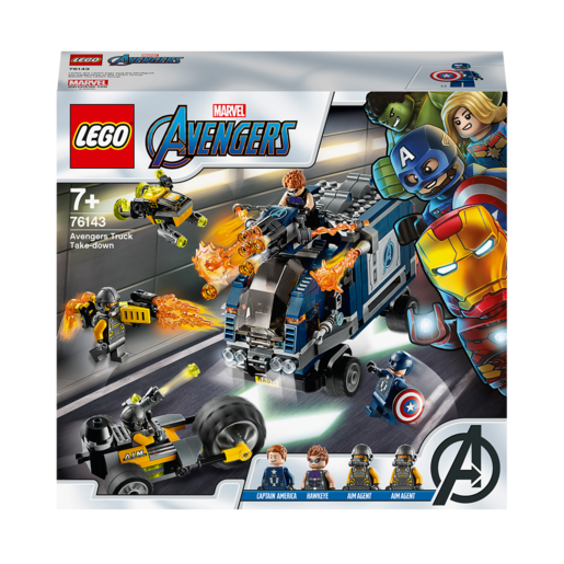 LEGO Marvel Avengers Truck Take-down - 76143