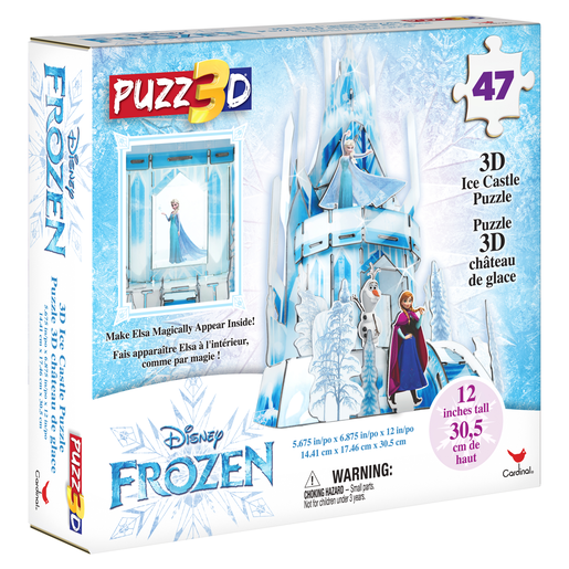 Disney Frozen 3D Ice Castle Puzzle 47 Pieces