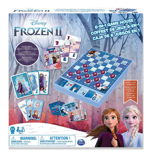 Disney Frozen 2 6-In-1 Game House