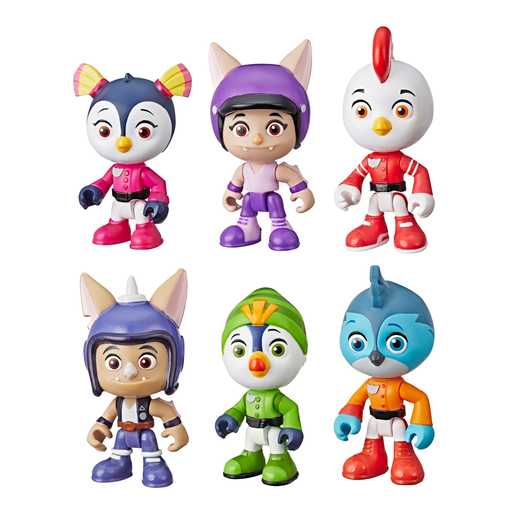 Top Wing Collector Pack Figures