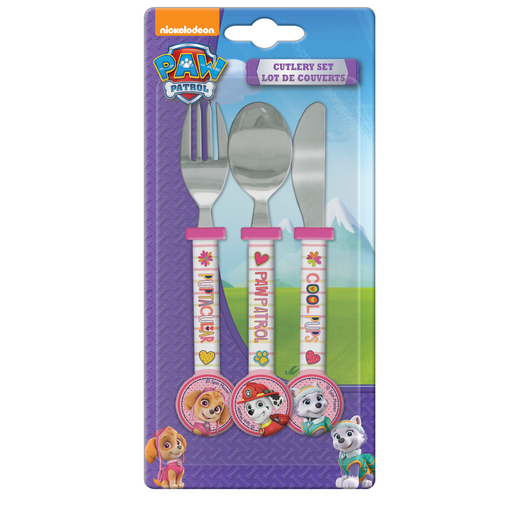 Paw Patrol Round Ended Cutlery