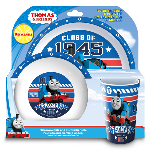 Thomas The Tank Engine Tumbler, Bowl and Plate Set