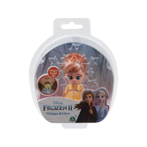 Disney Frozen 2 Whisper and Glow Figure - Anna Yellow Dress
