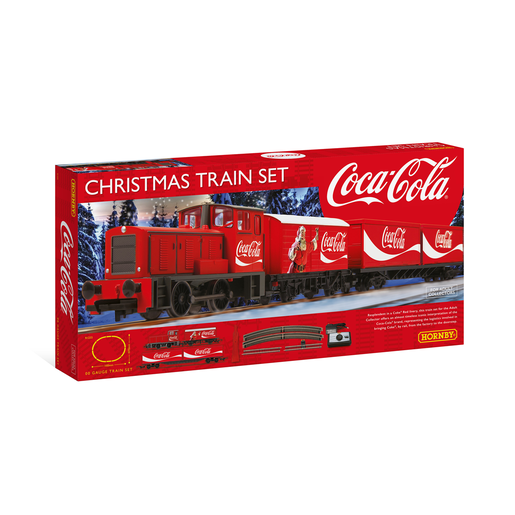Hornby Coca Cola Christmas Train Set