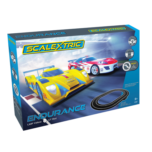 Scalextric Endurance Ultimate Race Track Set with Extension Pack