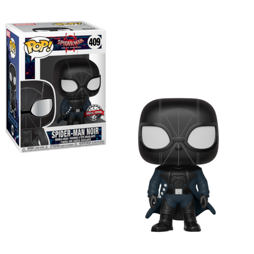 Funko Pop! Marvel: Spider-Man Into The Spider-Verse - Spider-Man Noir