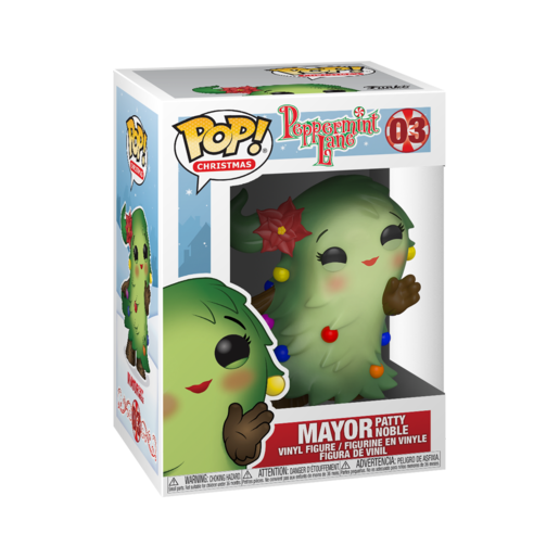 Funko Pop! Christmas: Peppermint Lane - Mayor Patty Noble
