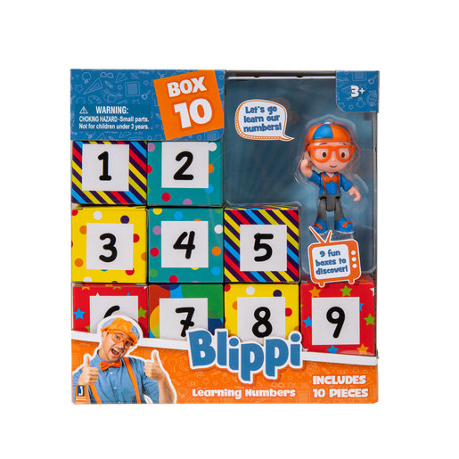 Blippi Surprise Box - Learning Numbers