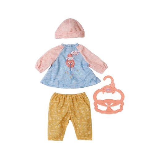 Baby Annabell 36cm Doll Outfit - Yellow Trousers