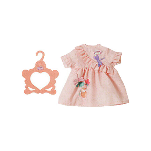 Baby Annabell Doll Day Dress - Peach