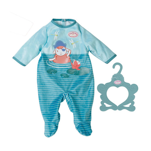 Baby Annabell Romper For 43cm Doll - Blue