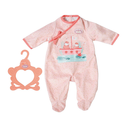 Baby Annabell Romper For 43cm Doll - Pink