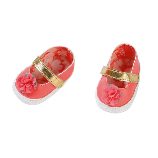 Baby Annabell Shoes For 43cm Doll - Pink