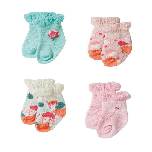 Baby Annabell 2 Pack Socks (Styles Vary)